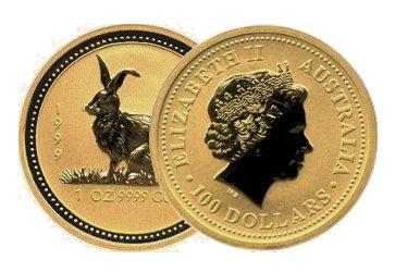 Perth Mint Gold Lunar 1