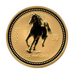 Gold Lunar - Perth Mint