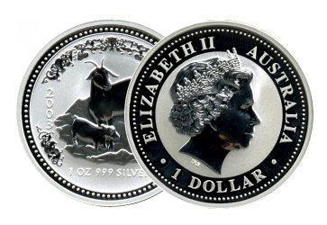 Lunar I Silber Australien