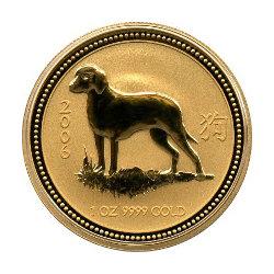 Gold Lunar Anlagemünze